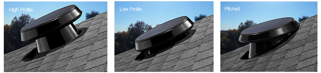 Available in High Profile, Low Profile or Pitched Flashing