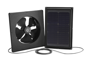 Solar Star Interior Mount 1500 Attic Fan