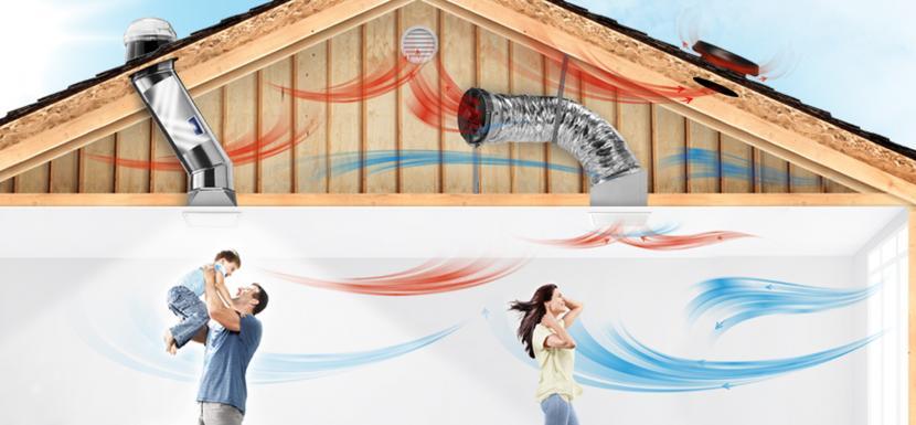 Solatube Skylights And Solar Powered Attic Fan Experts